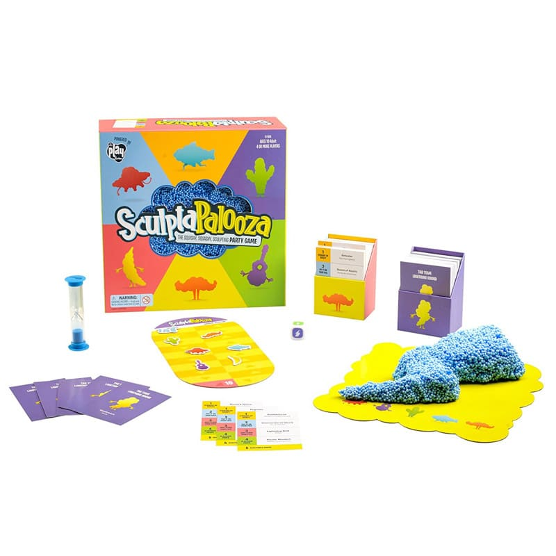Fun sculpting board game for kids