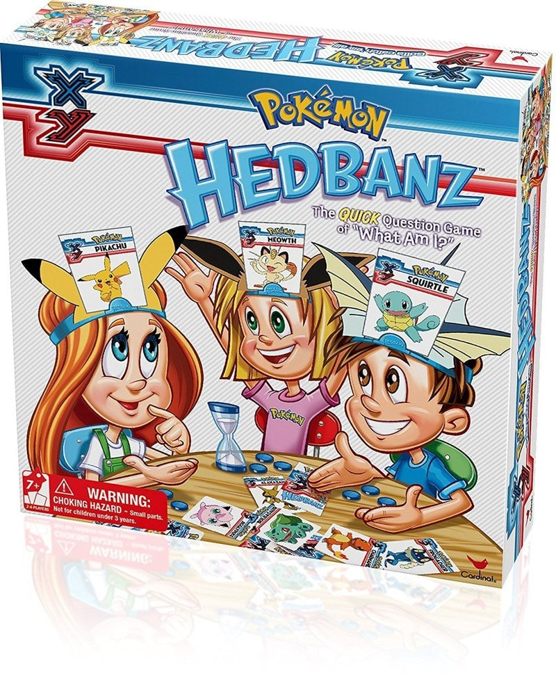Hedbanz is one of the most popular board games for kids