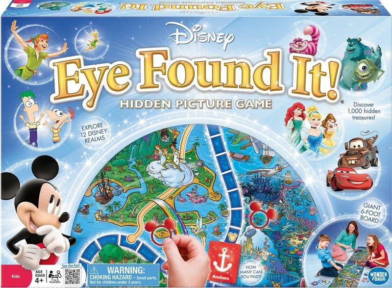 Fun board games for kids who like seek and find