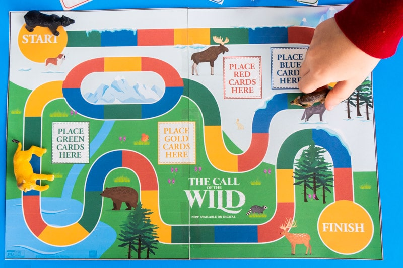 Call of the wild board game