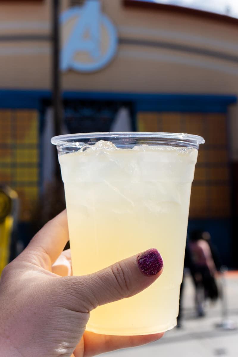 Lavender lemonade at Disneyland