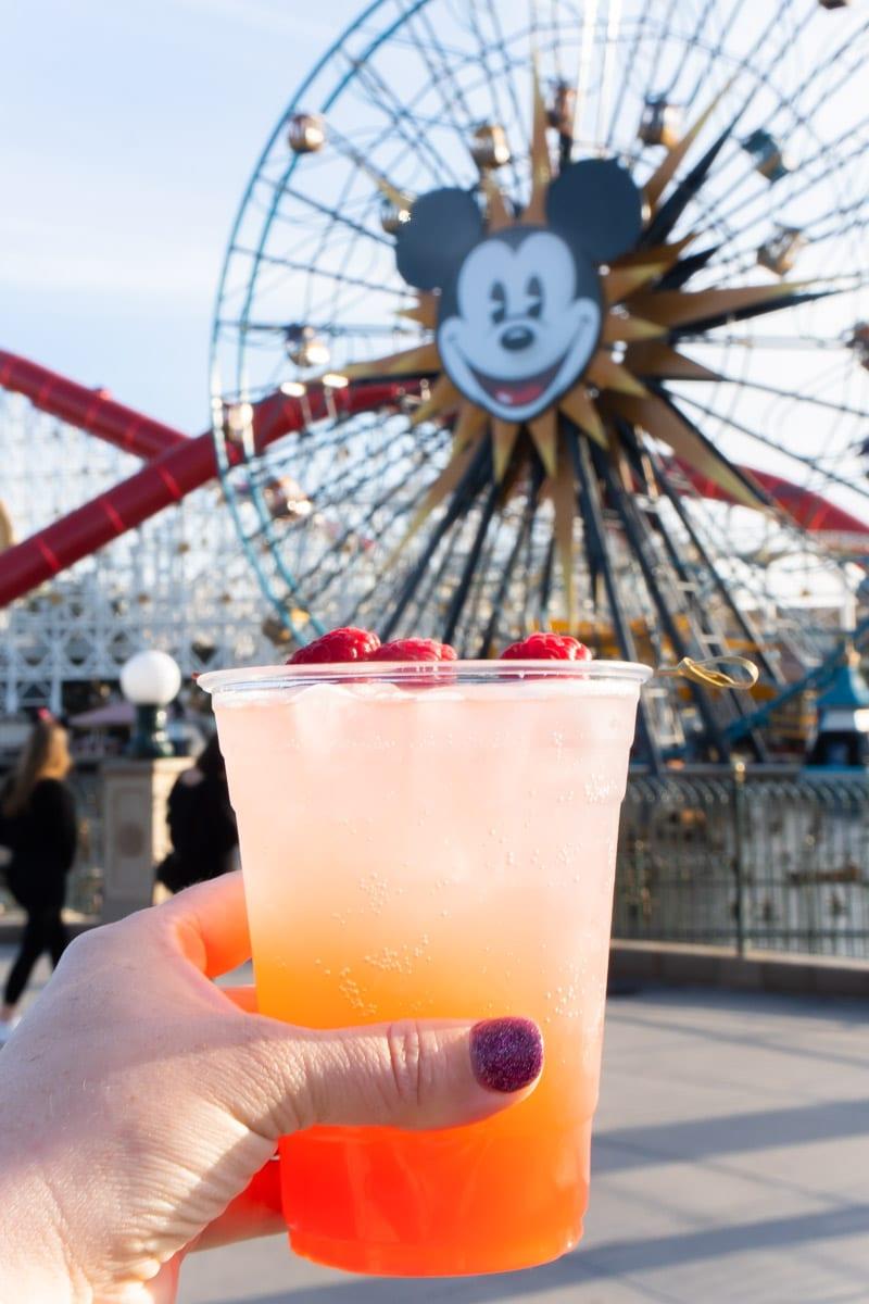 Grapefruit Sparkler at Disneyland Food and Wine Festival