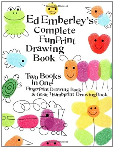 Fingerprint drawing book and other indoor activities