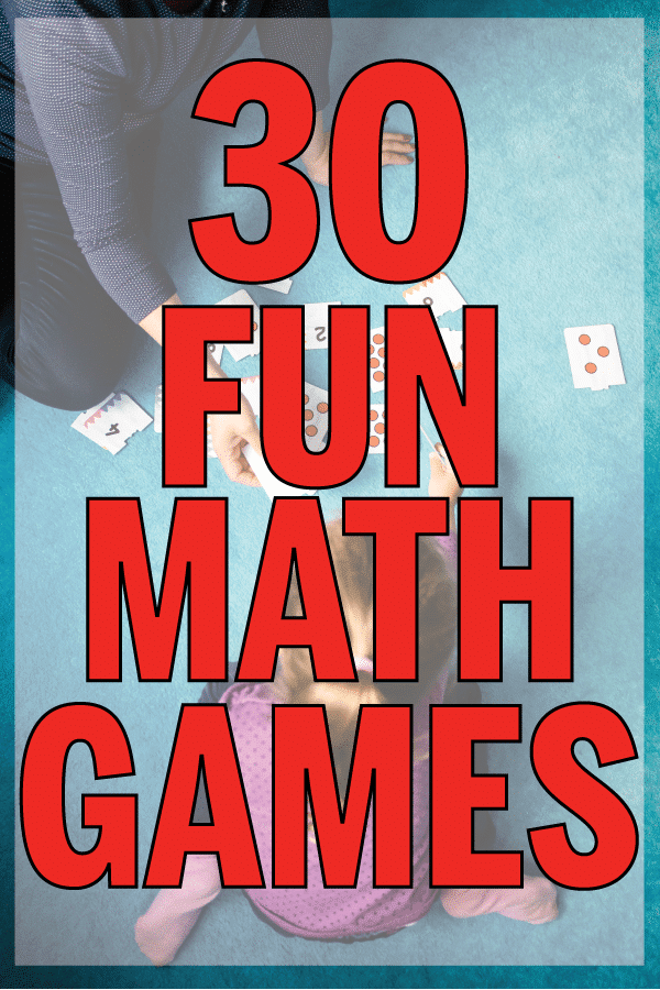 30 Super Fun Math Games For Kids Play Party Plan