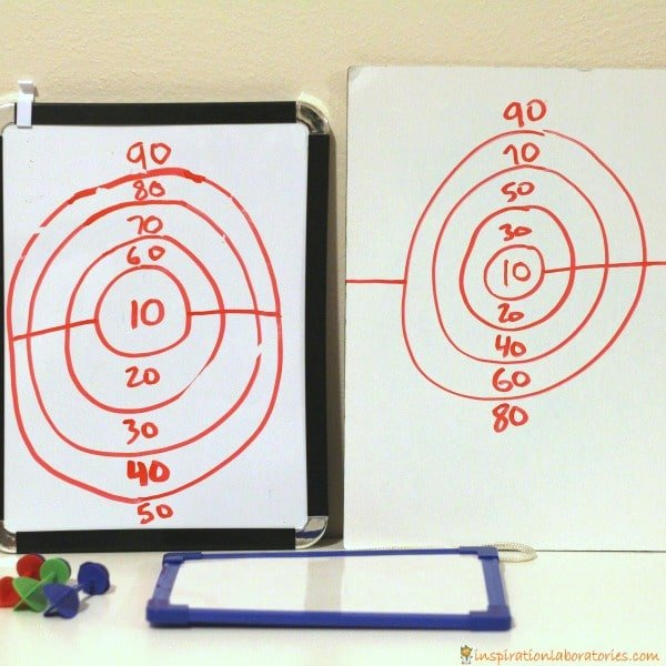 Nerf math games