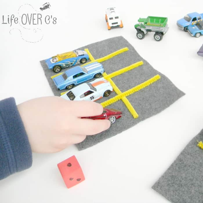Fun math games with cars