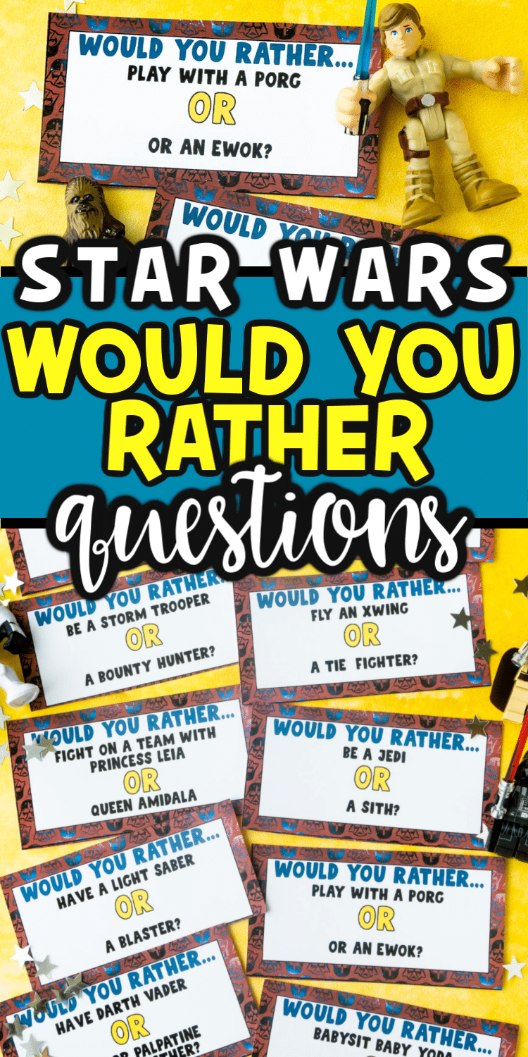 Star Wars Would You Rather