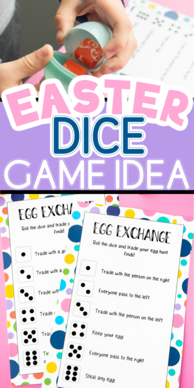 This Easter dice game is a great way to add a little dice rolling fun to your Easter celebrations! With variations that are fun for kids and adults, everyone will love playing this dice game to try and win some Easter treats!