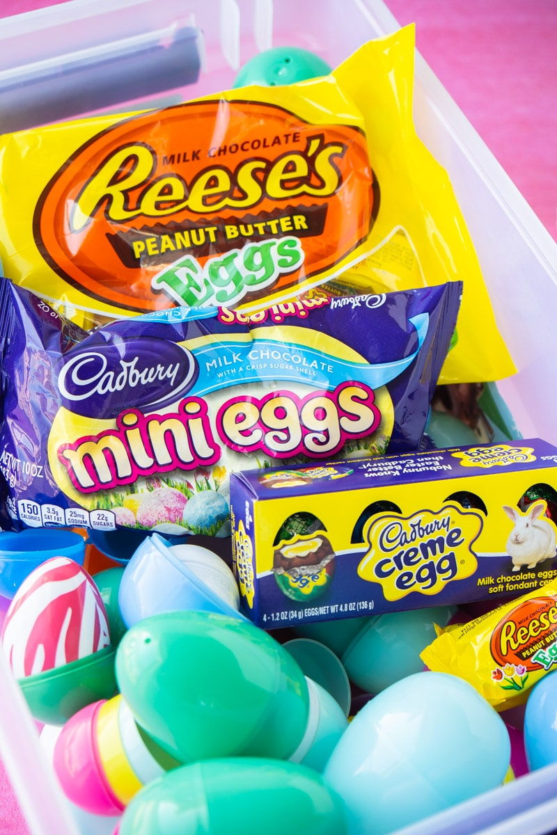 Candy to fill Easter eggs