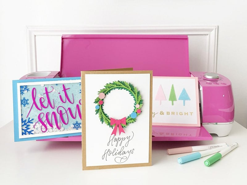 Christmas Cards and other Cricut projects