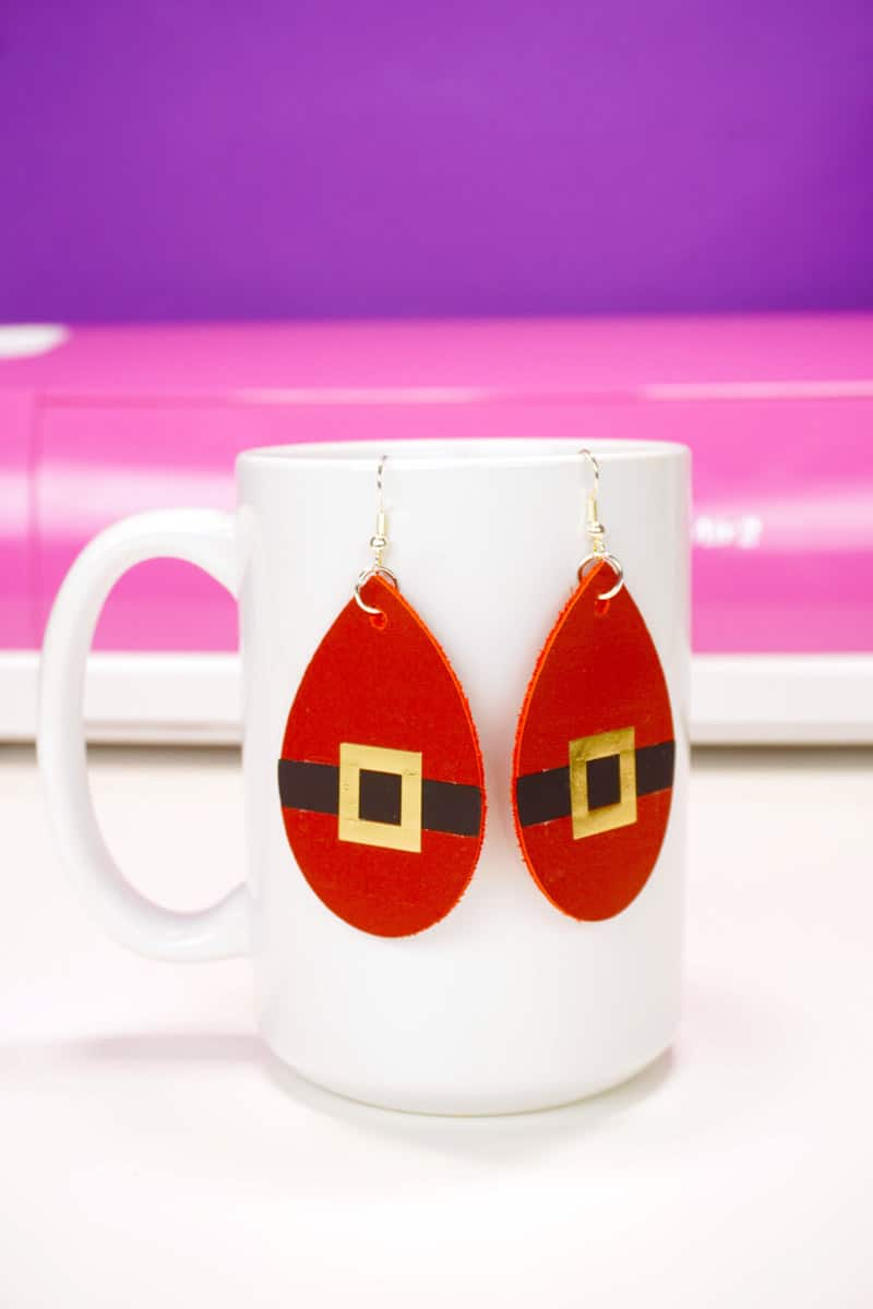Sana Earrings and other Cricut projects