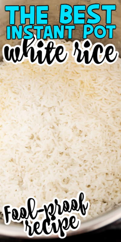 This Instant Pot basmati rice is easy to make and absolutely delicious! You'll need just a few ingredients to make this Instant Pot white rice, and it's guaranteed to become one of your family's favorite new side dishes!