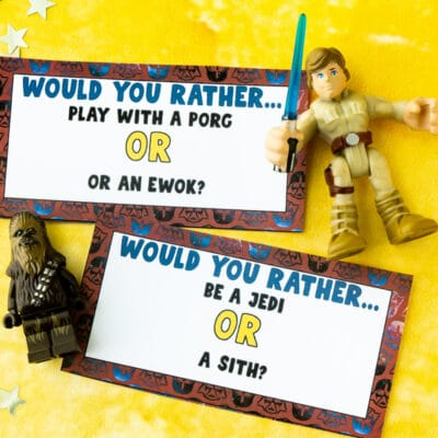 Free Printable Star Wars Would You Rather Questions