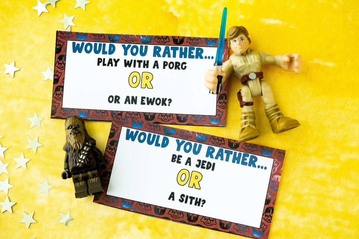 Star Wars would you rather questions