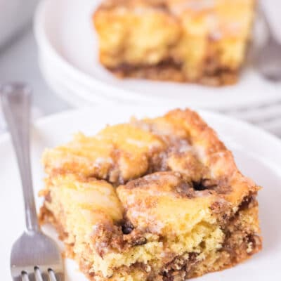 Easy Cinnamon Streusel Coffee Cake