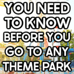 Amusement park image with text for Pinterest