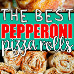 Pepperoni rolls collage for Pinterest