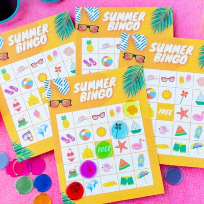 Summer Party Tips with NewAir Beverage Fridge & Summer Bingo Cards