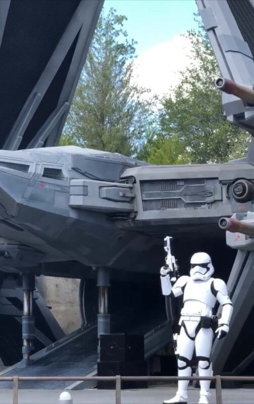 Storm Troopers in Galaxy Edge