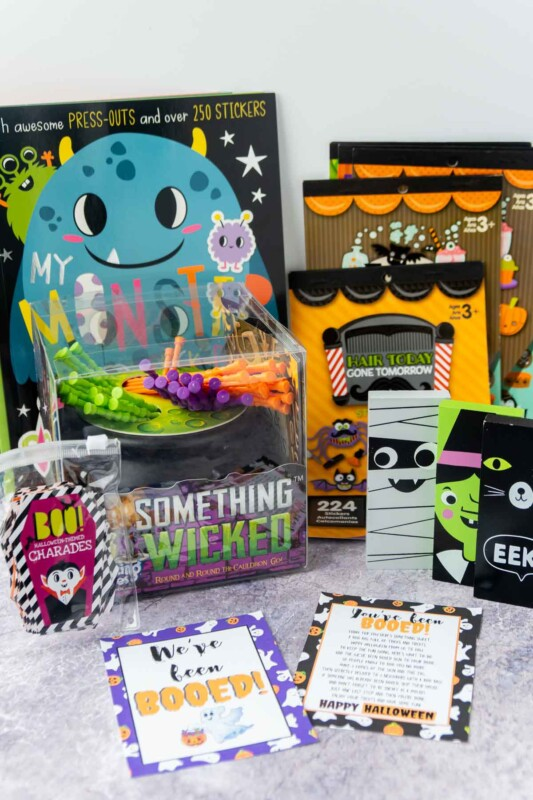 Something wicked game, coloring books, and more Halloween activities