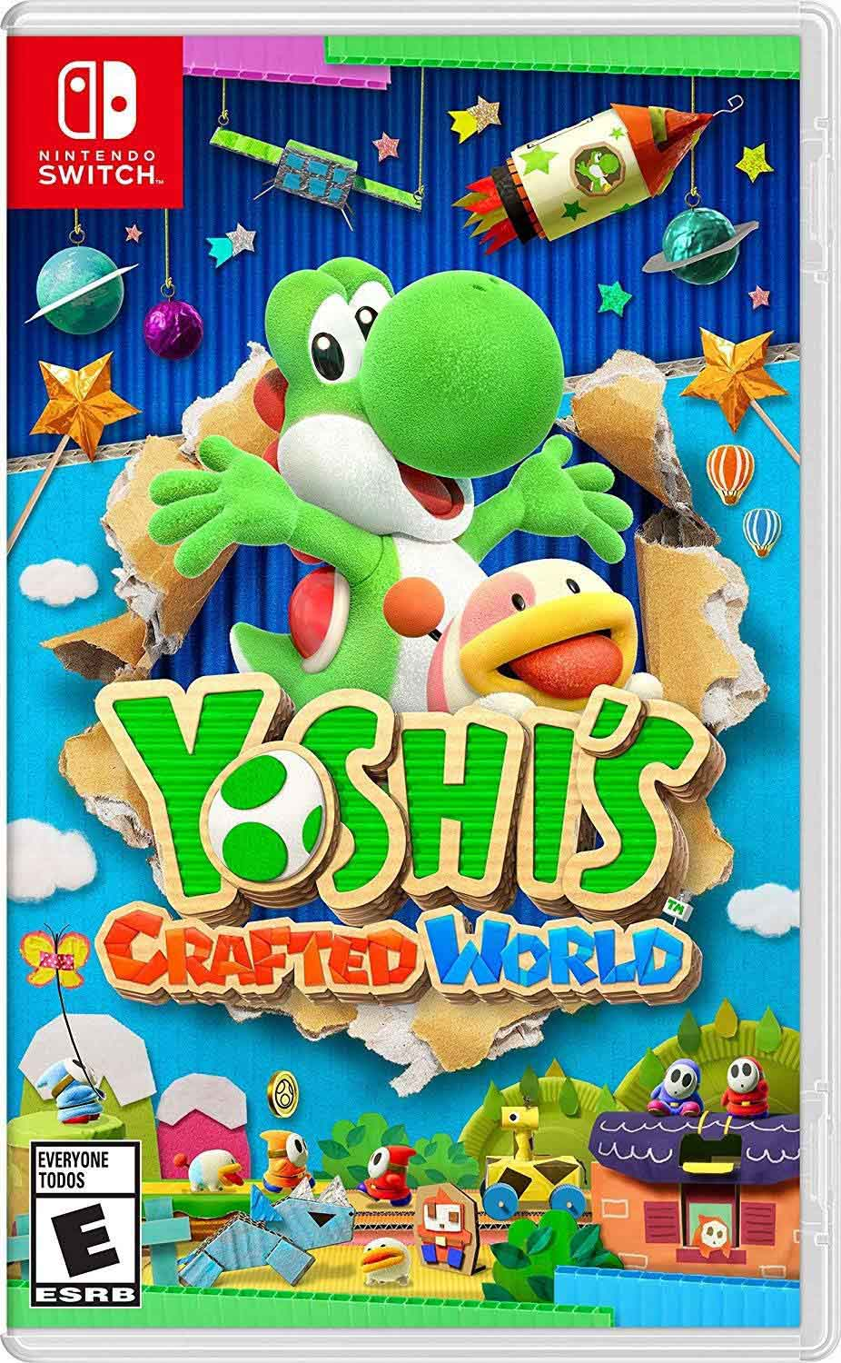 Cover of Yoshi's Crafted World game