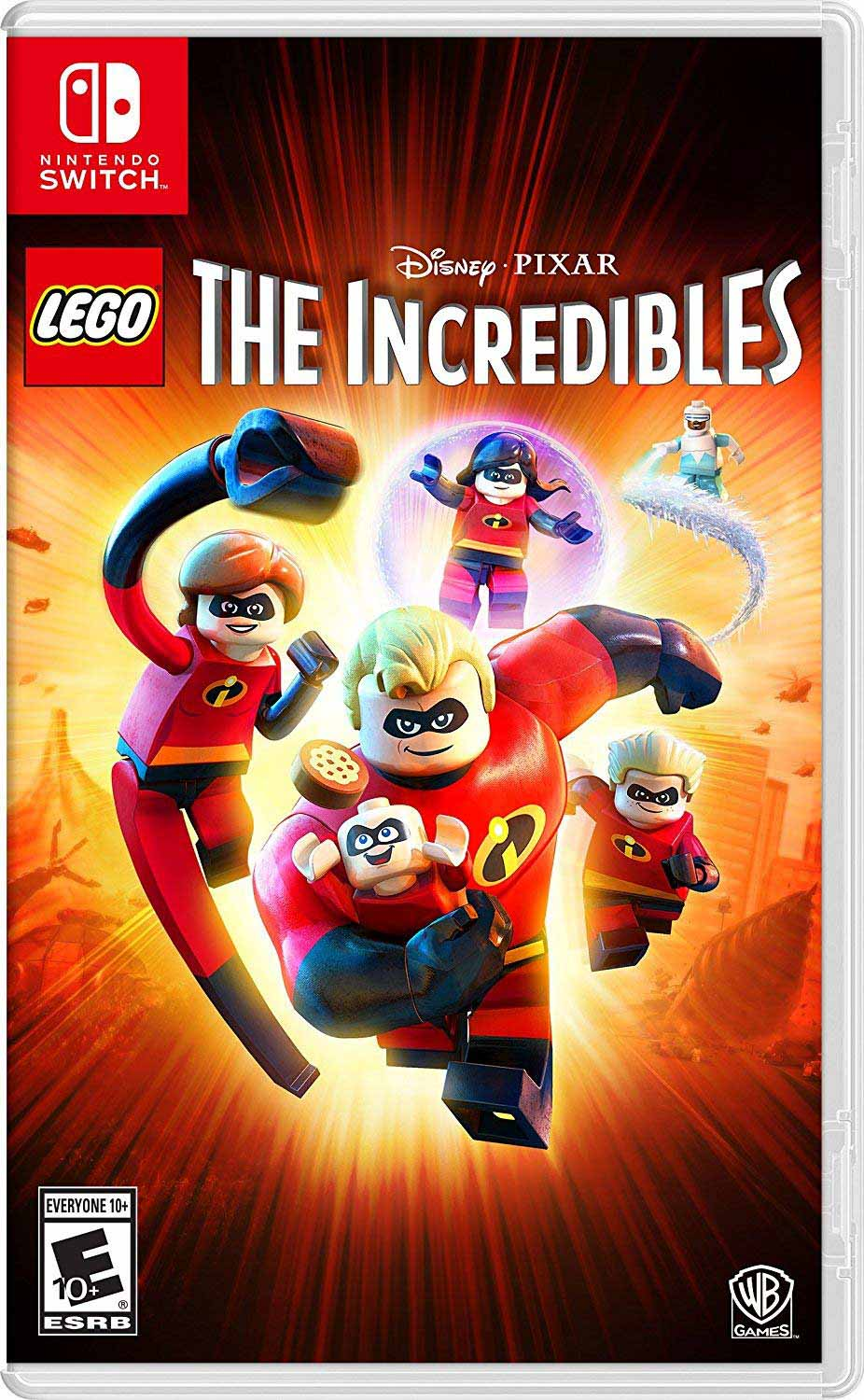 Cover of the Lego The Incredibles game