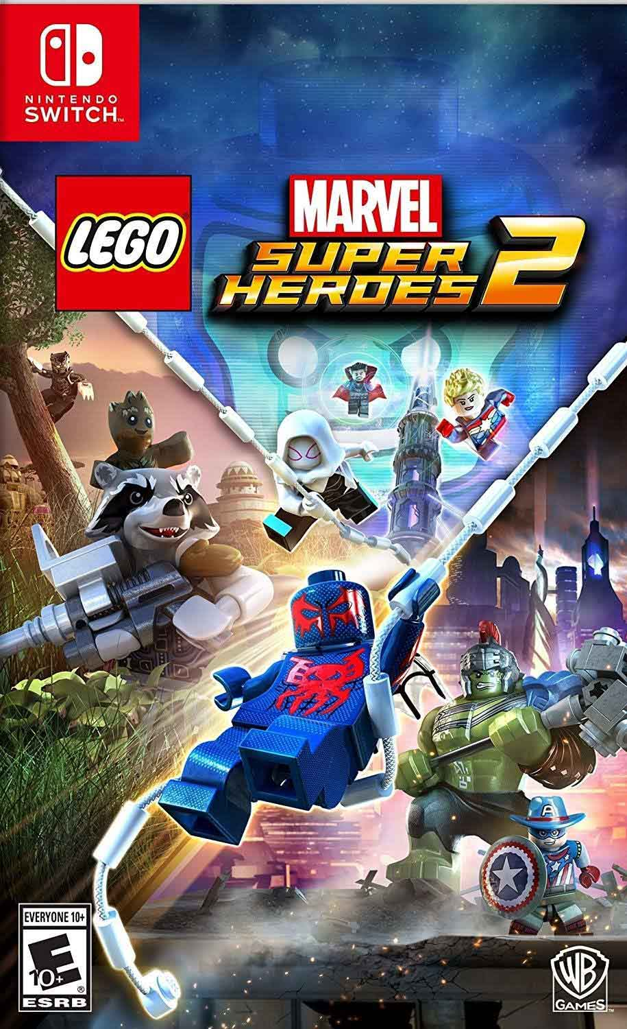 Cover of Lego Marvel Super Heroes 2