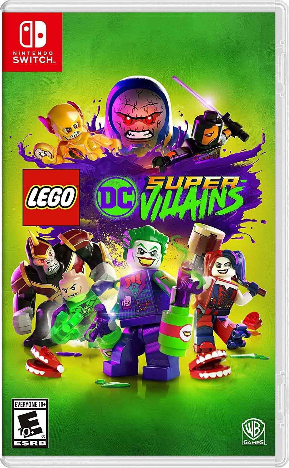 Lego DC Super-Villains game cover