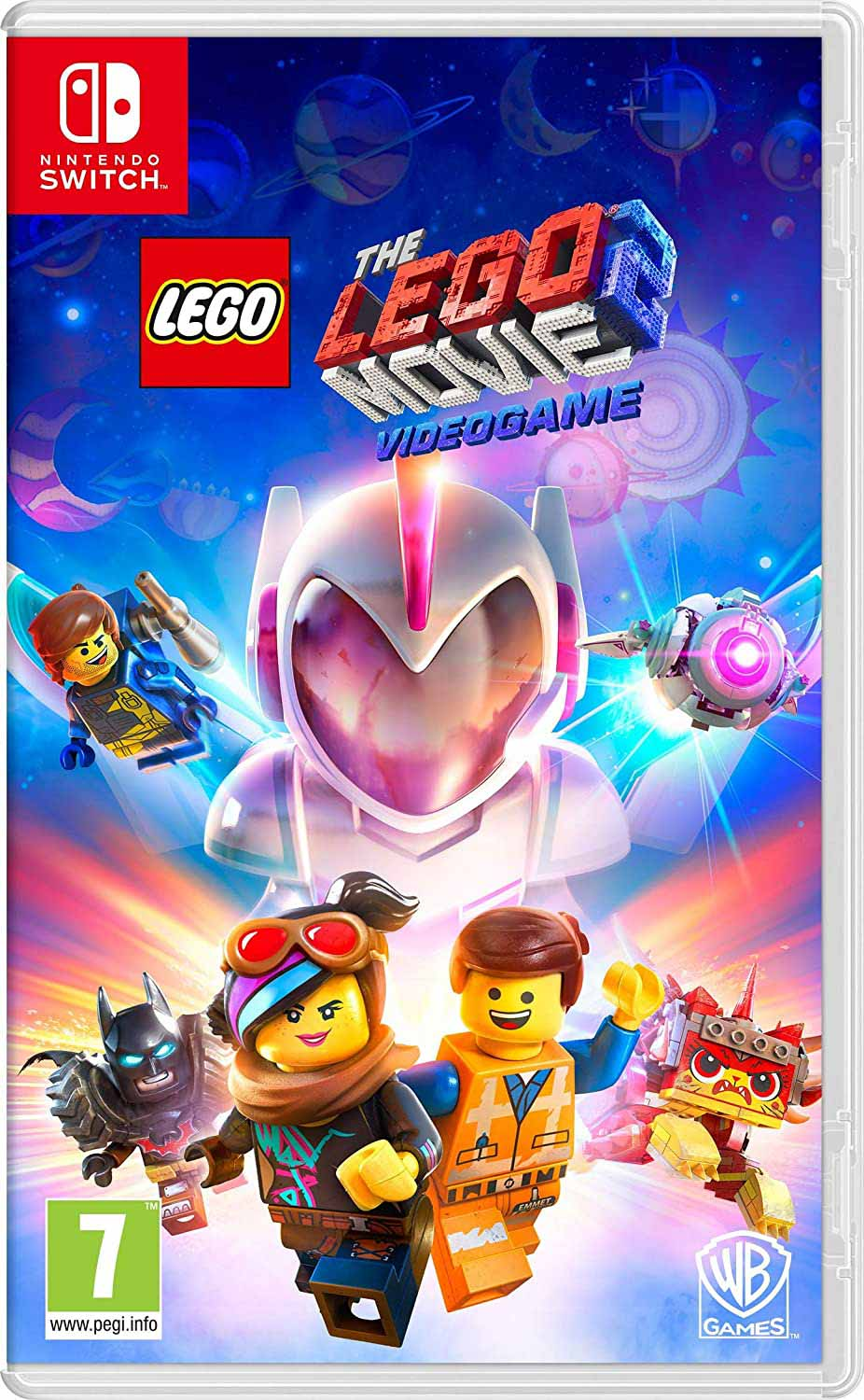 Lego Movie 2 Nintendo Switch game cover