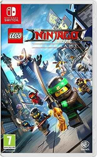 Cover of the Lego Ninjago Game for Nintendo Switch