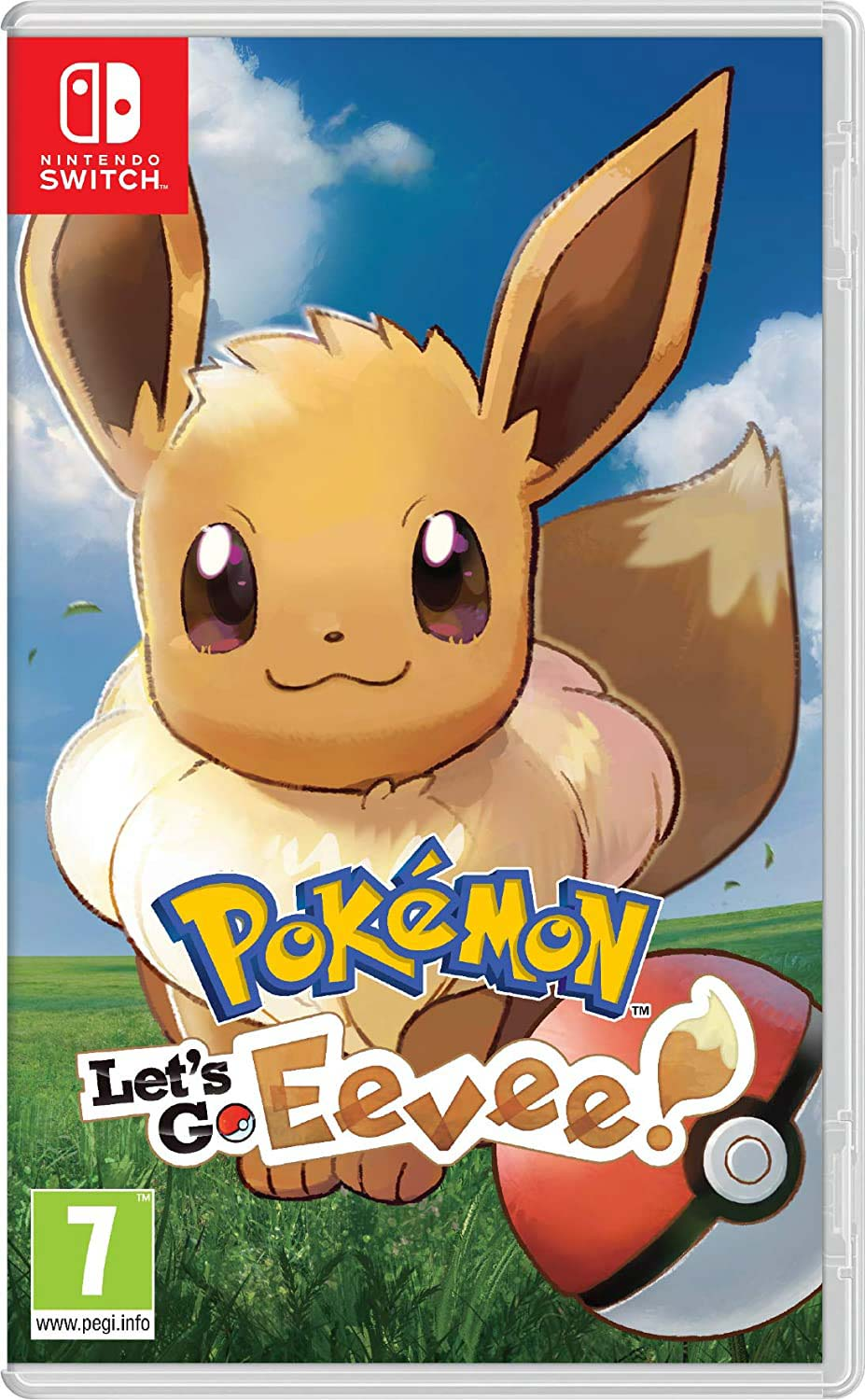 Cover of Let's Go Eevee Nintendo Switch game