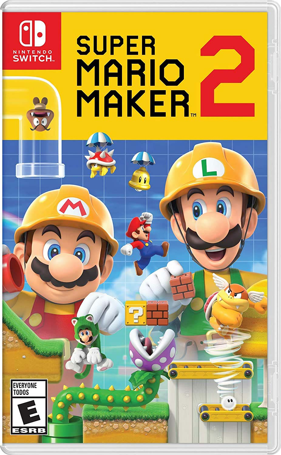 Super Mario Maker game cover