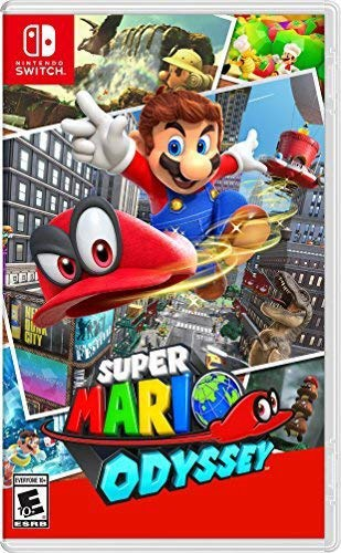 Super Mario Odyssey game cover