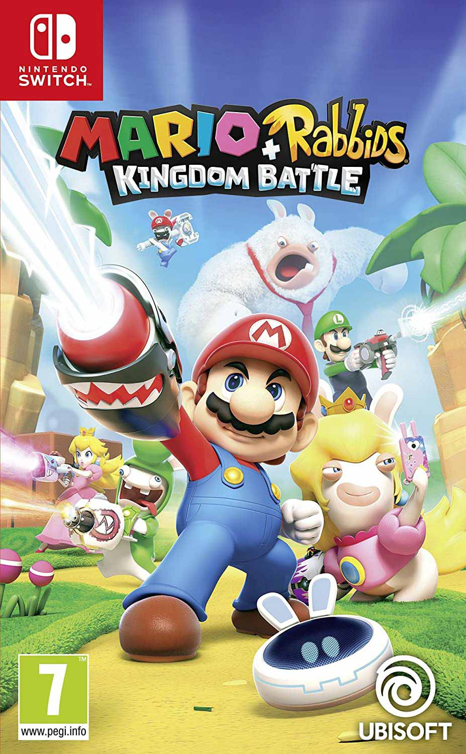 Mario & Rabbits Battle Kingdom game cover