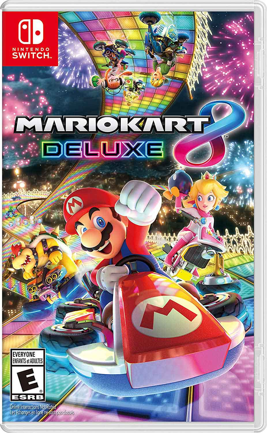 Super Mario Kart 8 Deluxe game cover