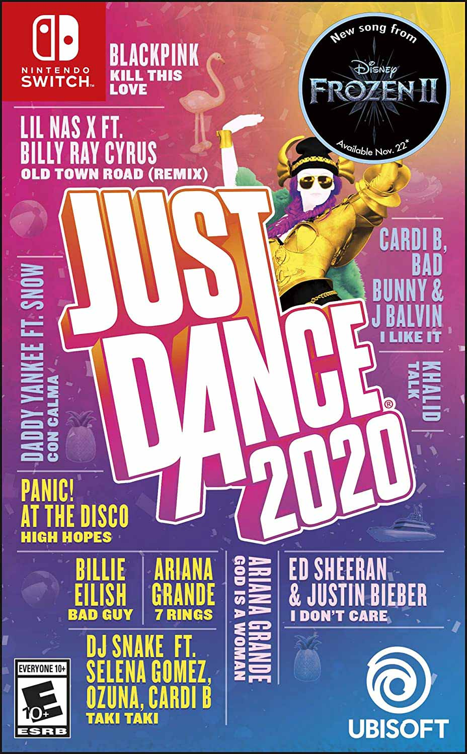 Cover of Just Dance 2020 game