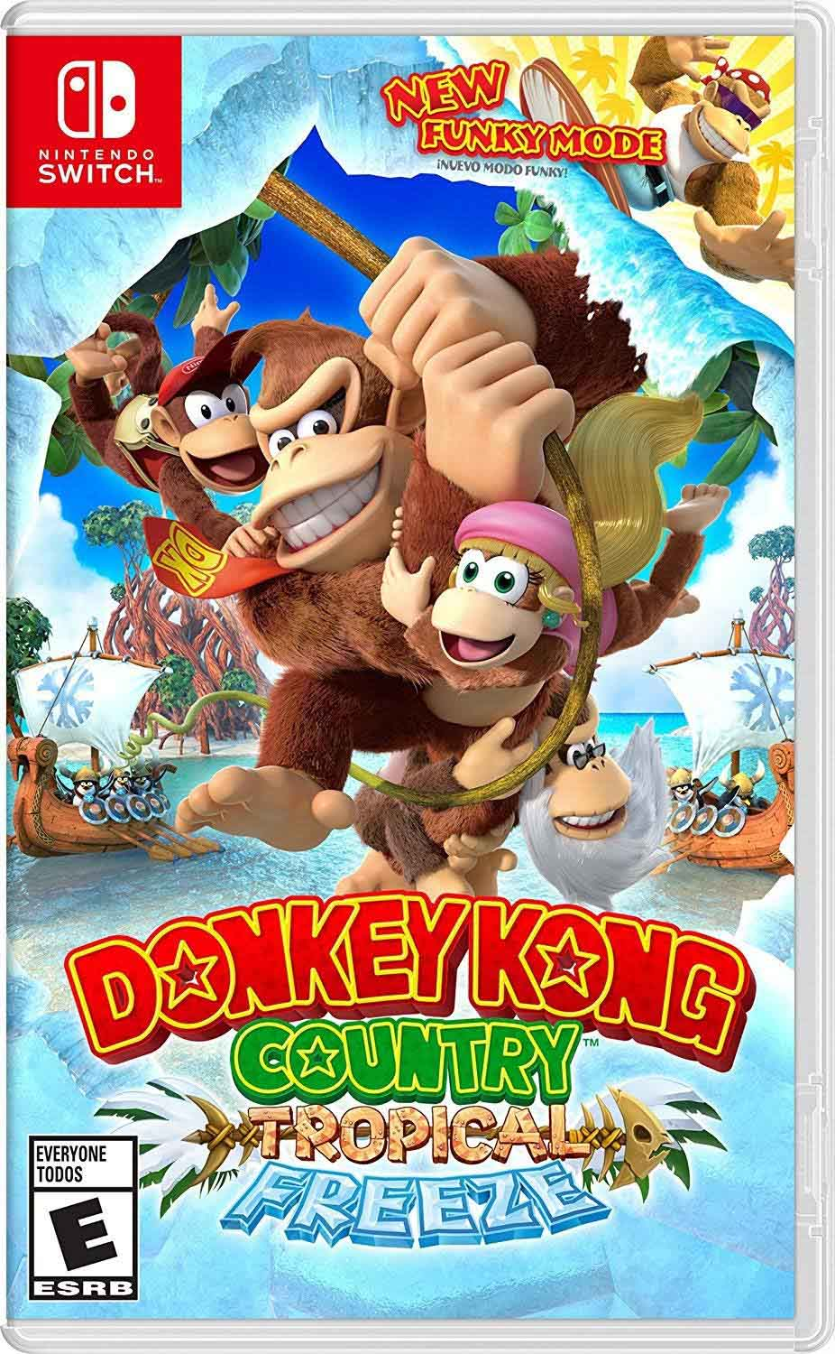 Donkey Kong Tropical Freeze game cover