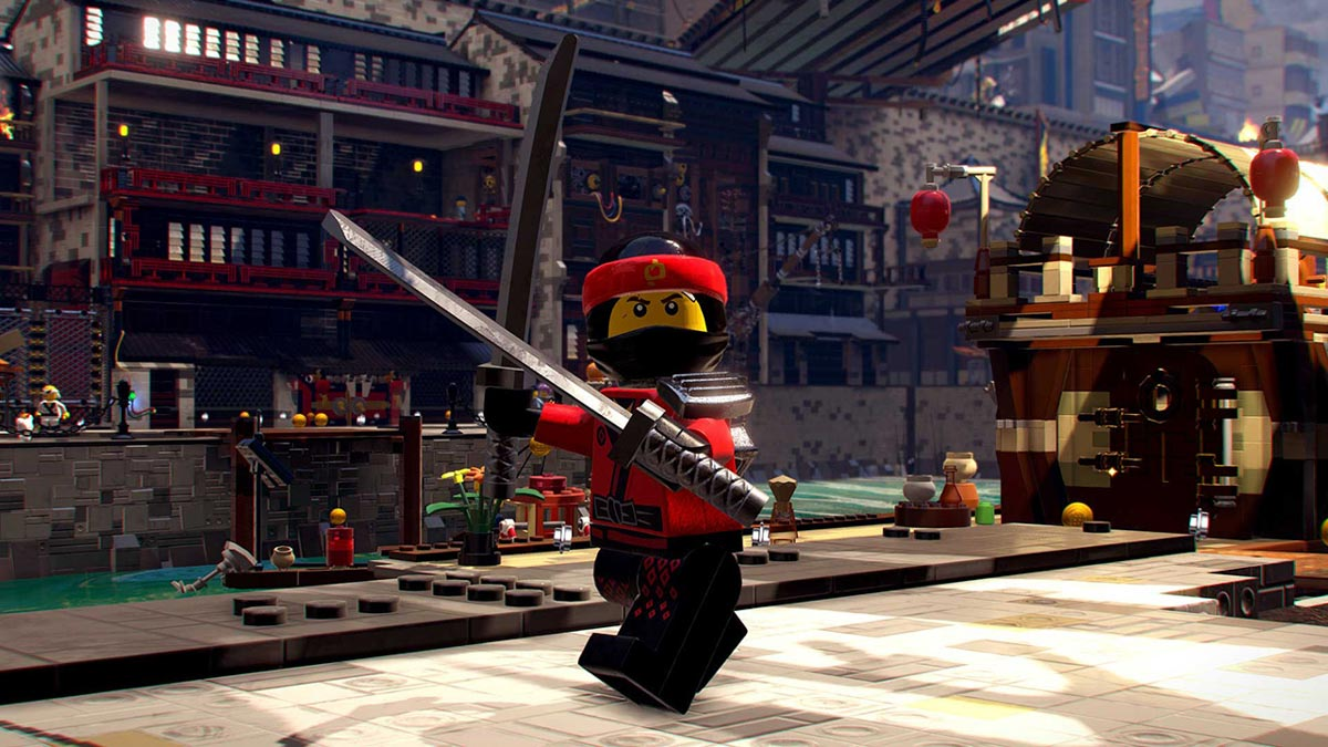 Ninjago Lego game screenshot