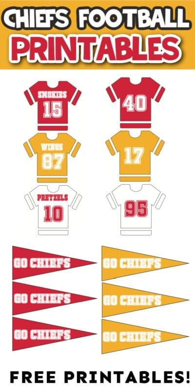 Chiefs Super Bowl printables