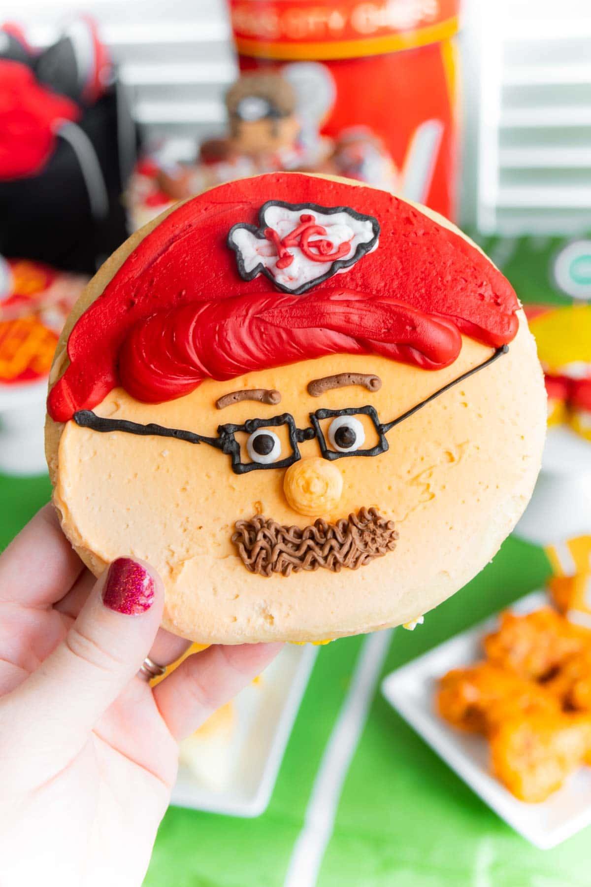 Andy Reid cookie