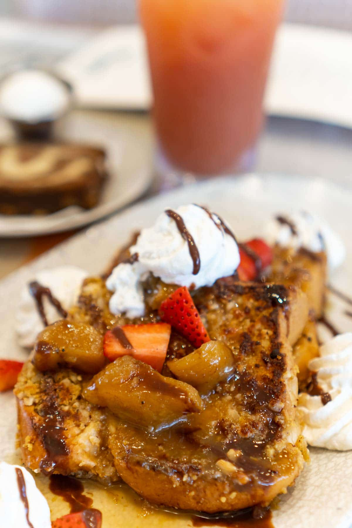 caribbean french toast at Margaritaville Conroe