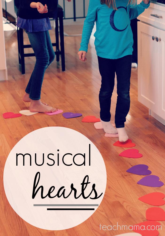Kids walking on hearts