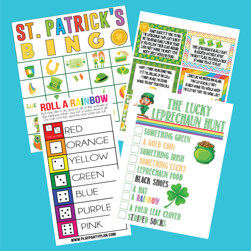 four St. Patrick's Day games