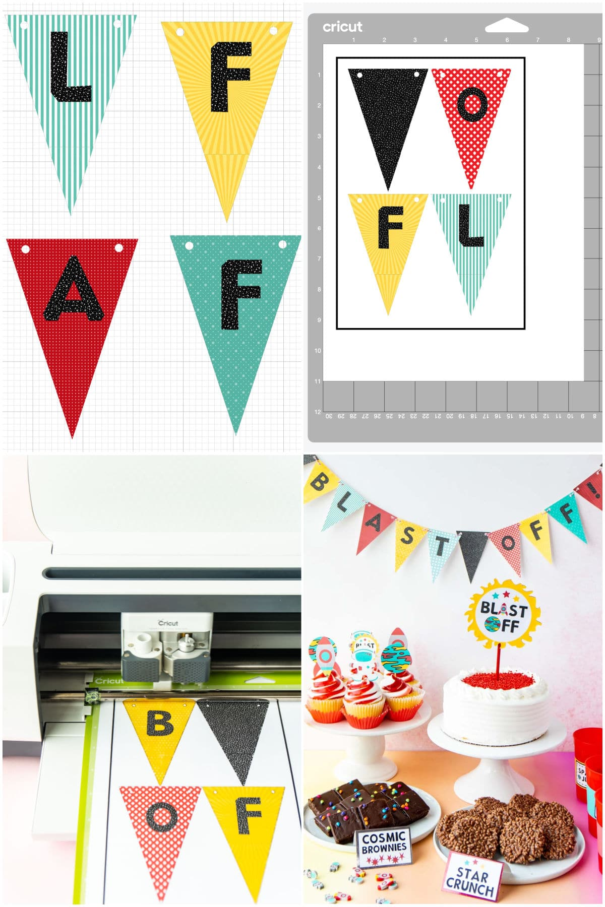 DIY party banner images