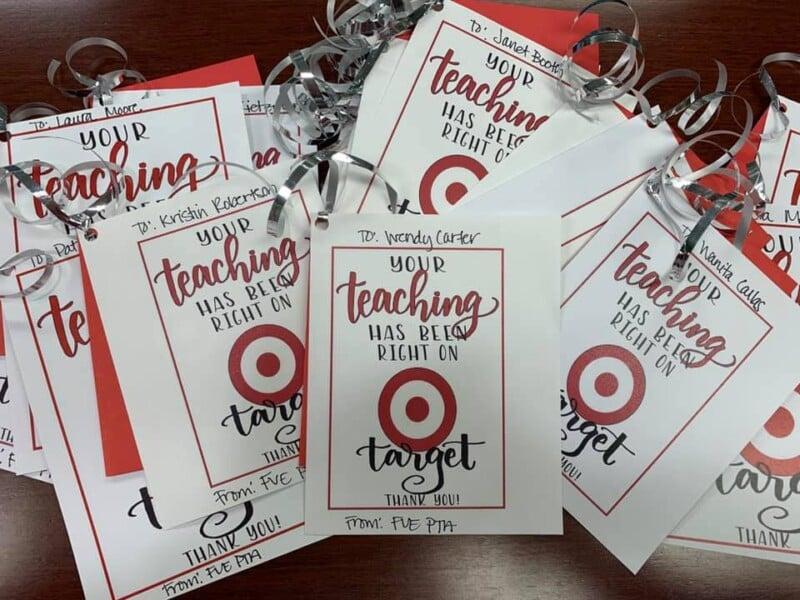 Teacher Target gifts