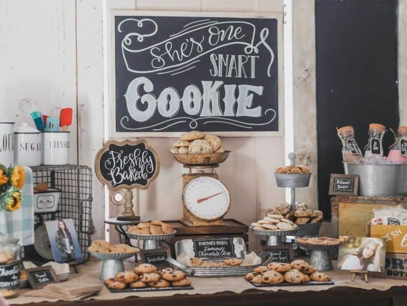 one smart cookie bar setup