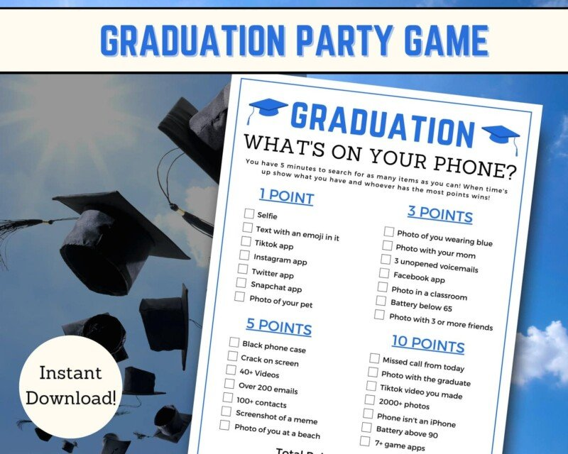 what's in your phone graduation edition