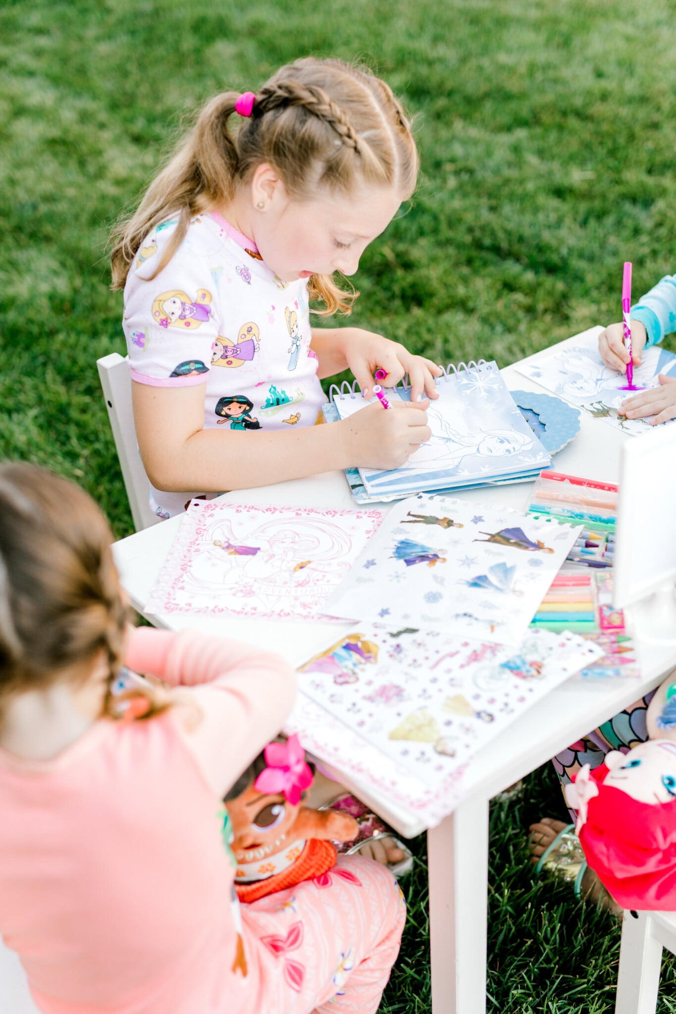 girl coloring princess pictures