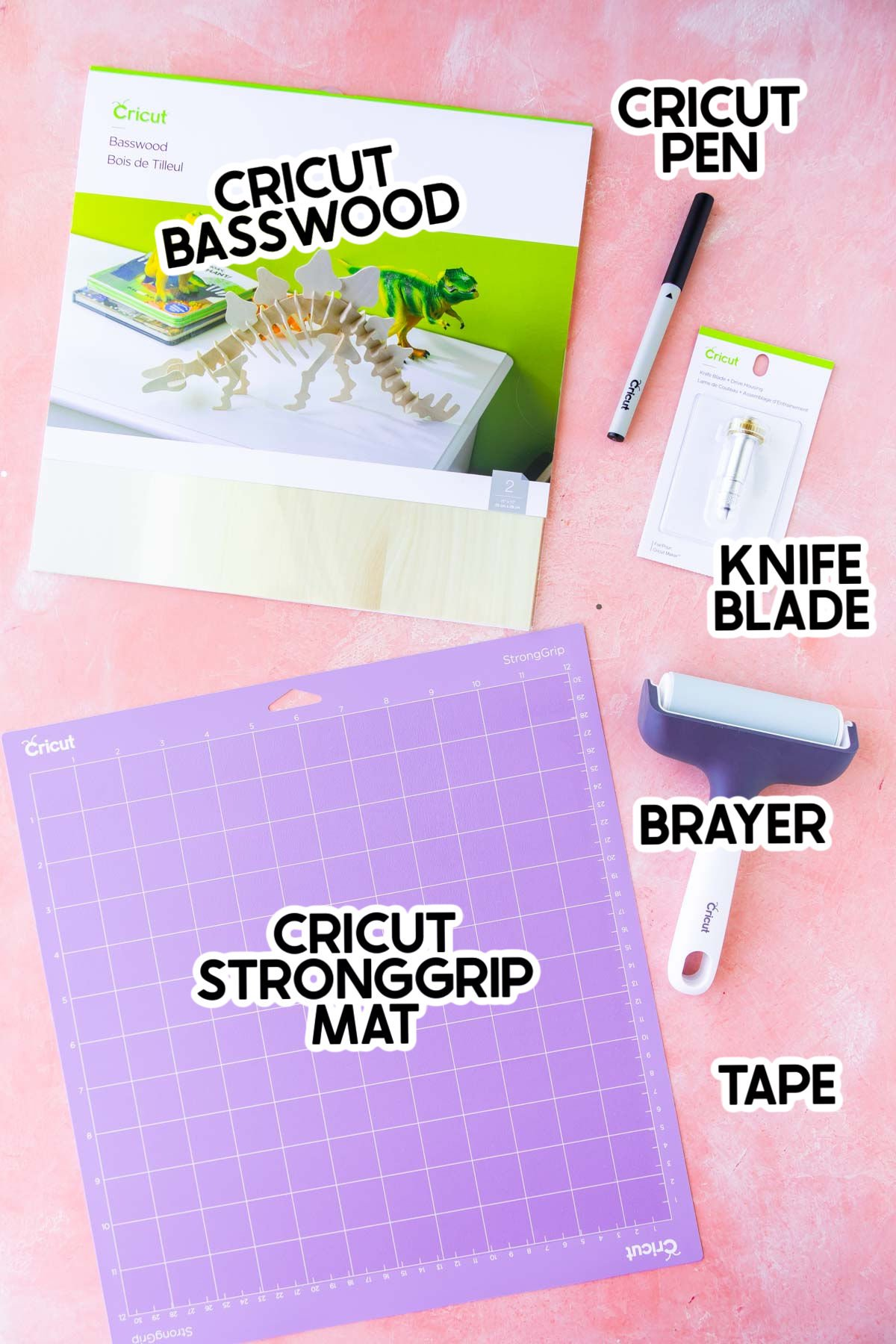 supplies needed to make DIY charcuterie board labels