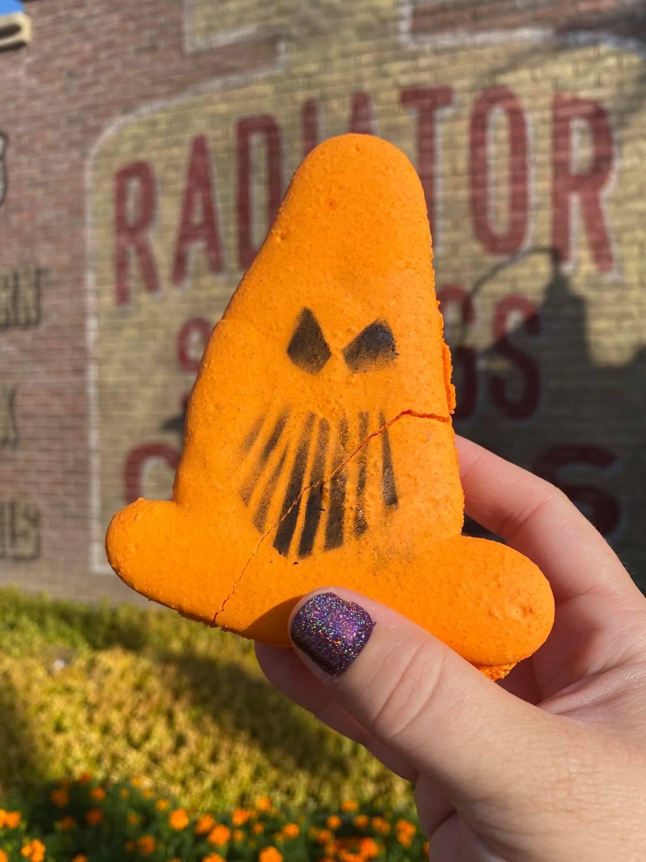 cone macaron at Disneyland